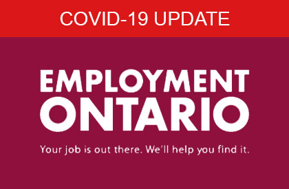 COVID-19 Employment Ontario Featured