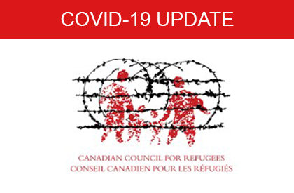 COVID-19 Canadian Council of Refugees