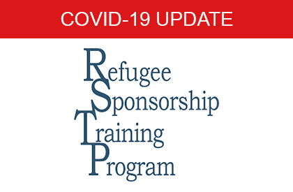 COVID-19 Refugee Sponsorship Training Program
