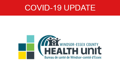COVID-19 Windsor Essex County Health Unit
