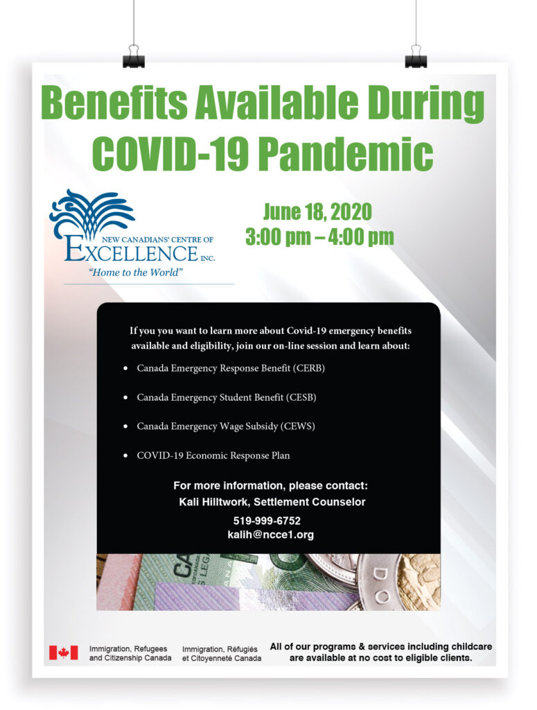 Benefits available during COVID