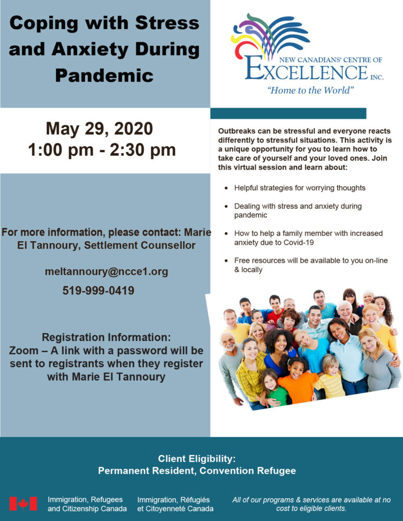 Coping with Stress and Anxiety During Pandemic