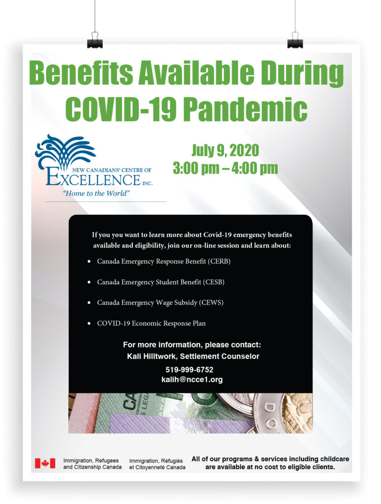 Benefits Available During COVID-19 Pandemic