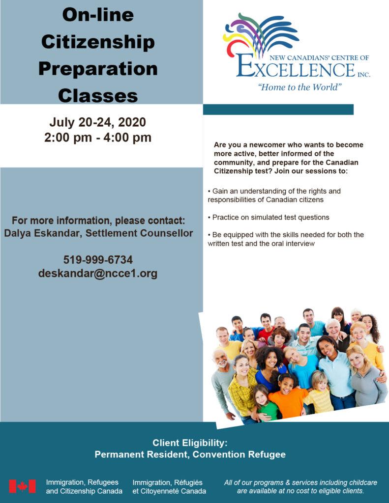 Online Citizenship Preparation Classes