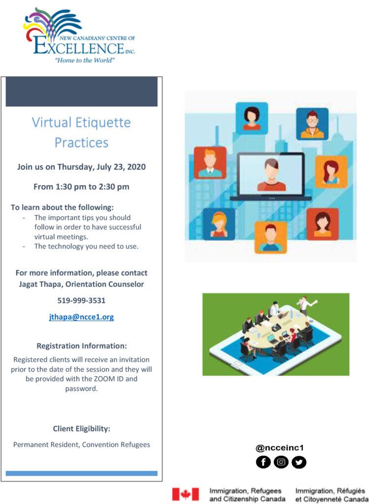 Virtual Etiquette Practices