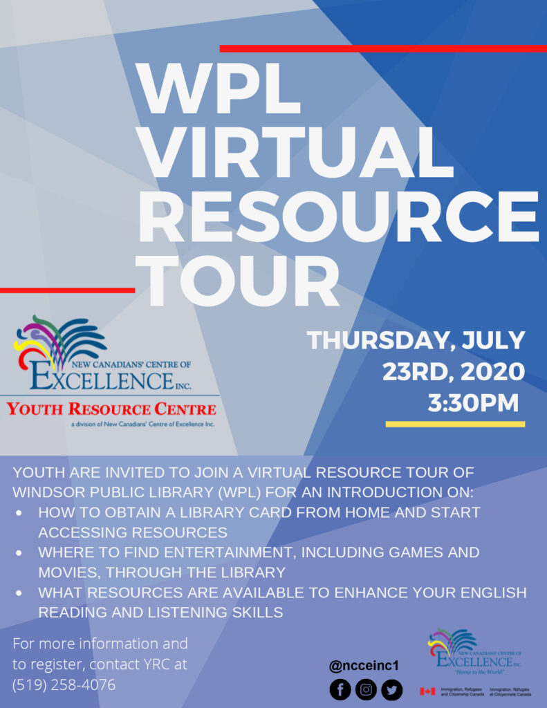 WPL Virtual Resource Tour