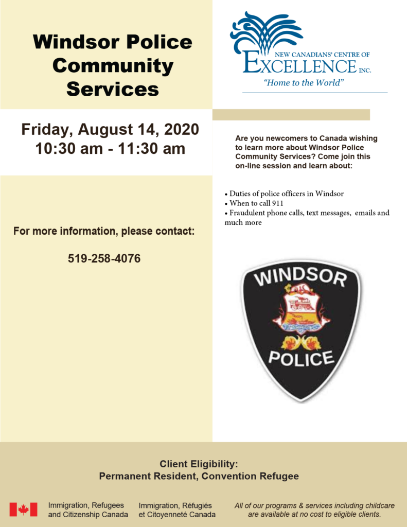Windsor Police Community Services