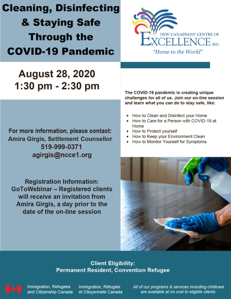 Cleaning, Disinfecting & Staying Safe Through the COVID-19 Pandemic