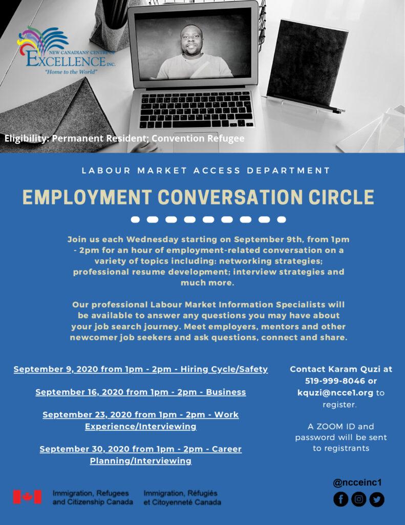 LMI - Employment Conversation Circle