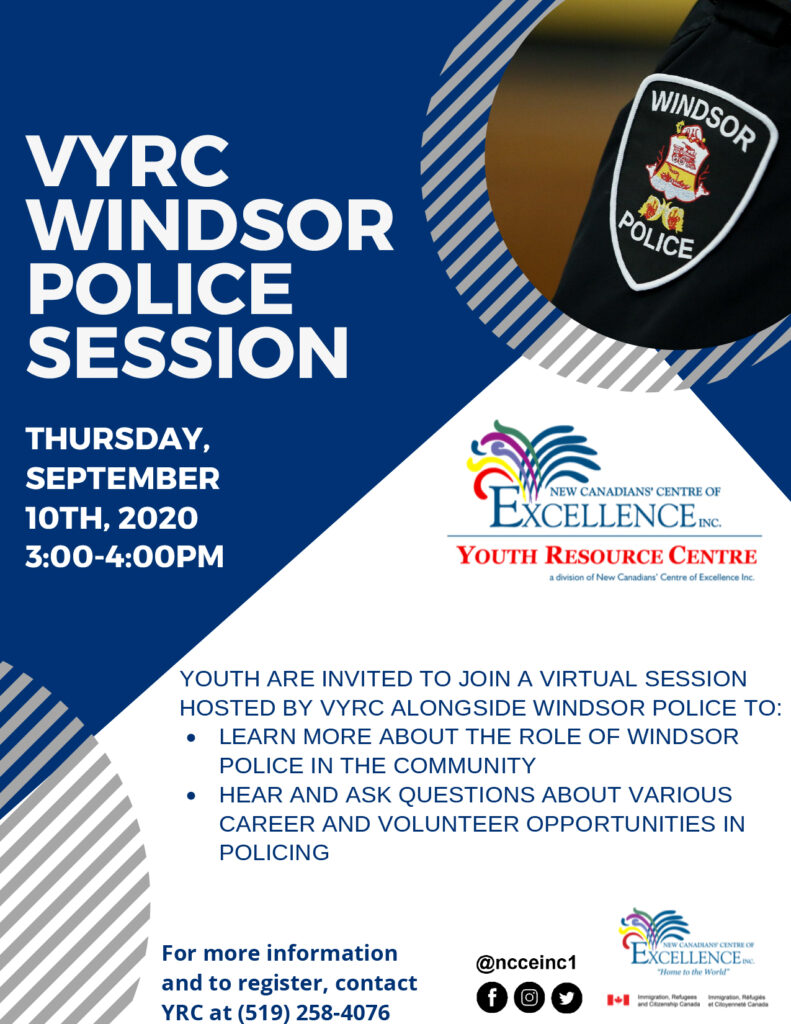 VYRC Windsor Police Session