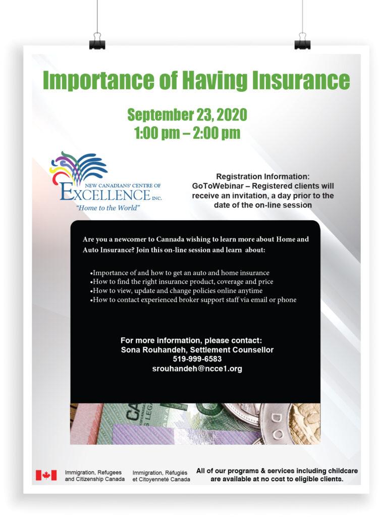 Importance of Having Insurance