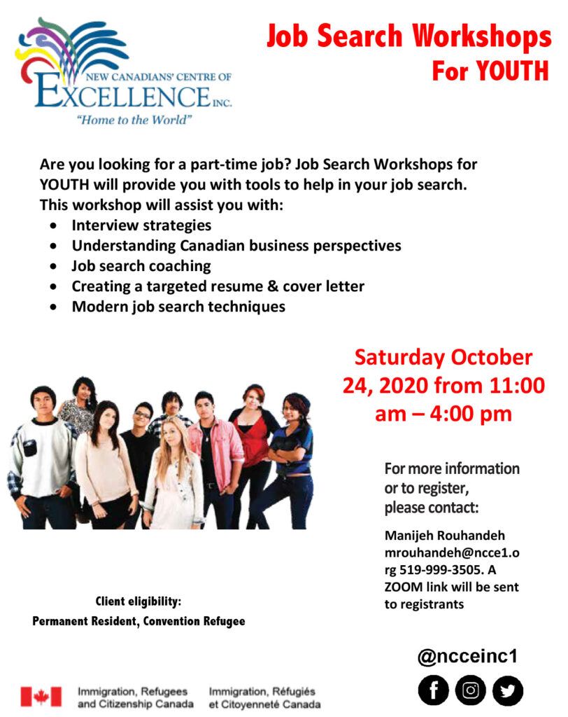Job Search Workshops for Youth