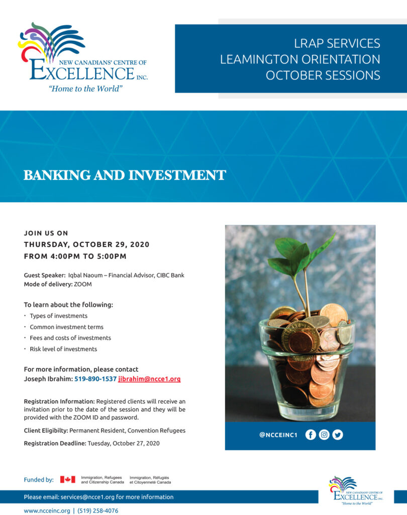 Banking and Investment