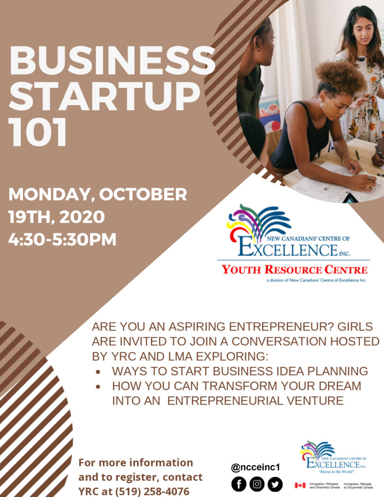 LMA - Business Start Up 101