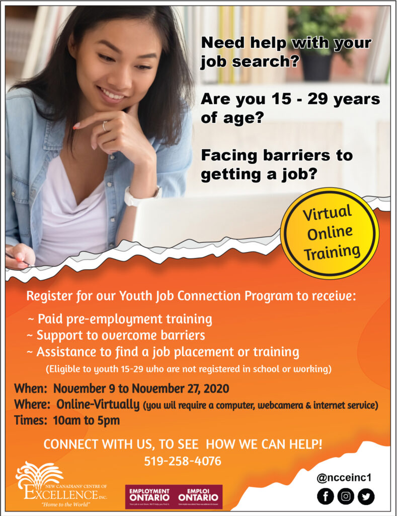 Virtual Youth Job Connection Program