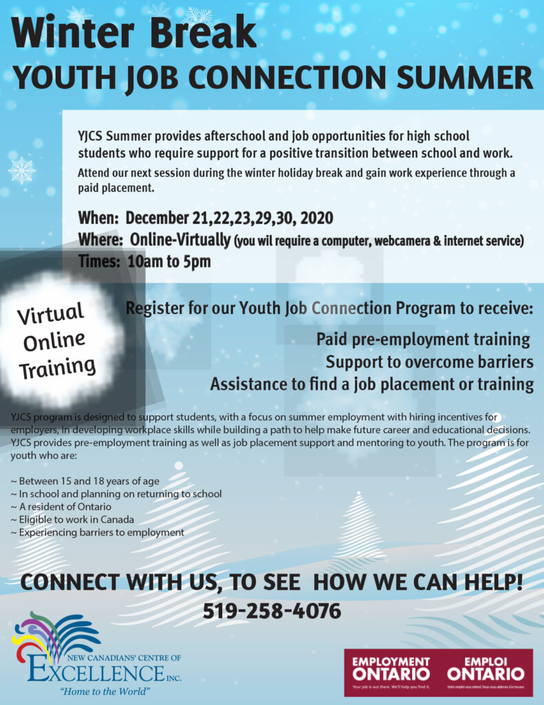 Youth Job Connection Summer