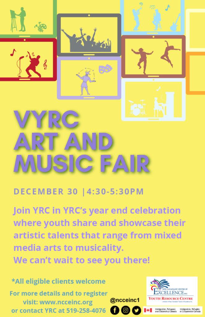 VYRC Art and Music Fair