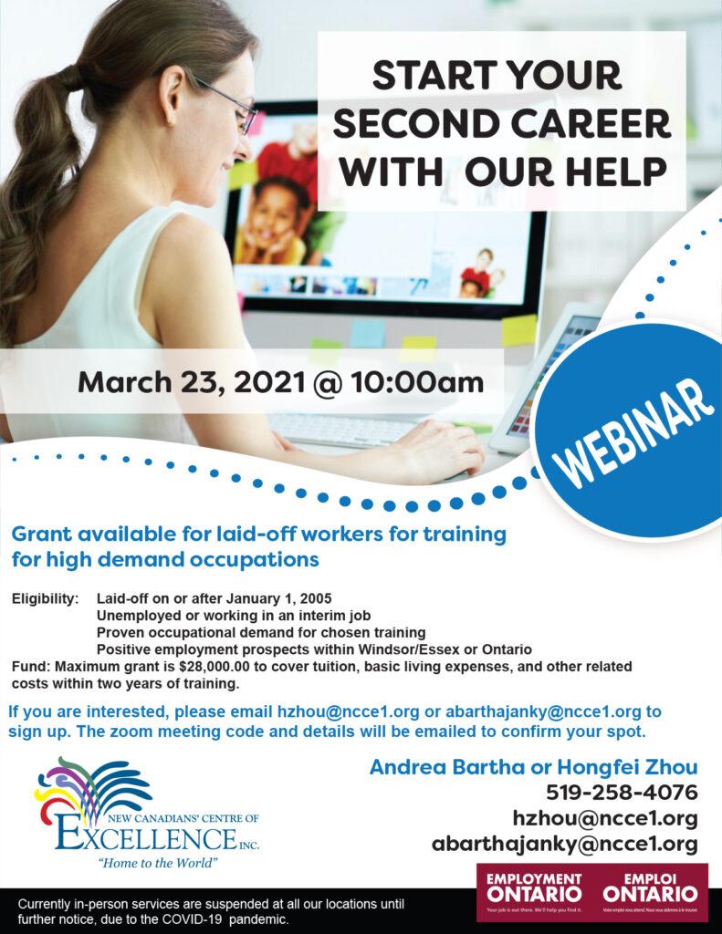 Second Career Webinar