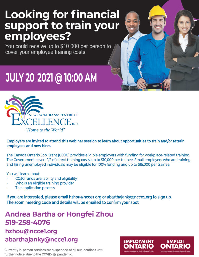 EO: Looking for Financial Support to Train Your Employees?