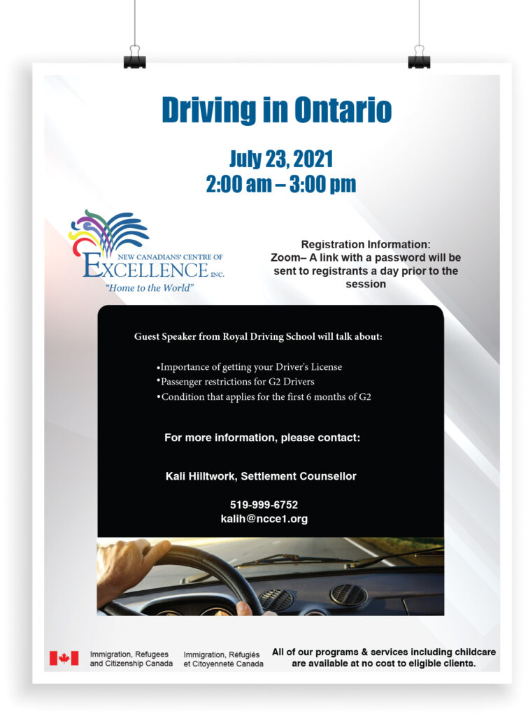 Driving in Ontario