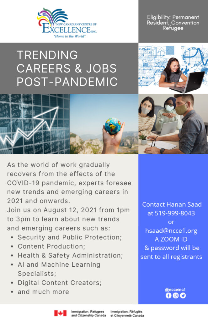 Trending Careers & Jobs Post-Pandemic