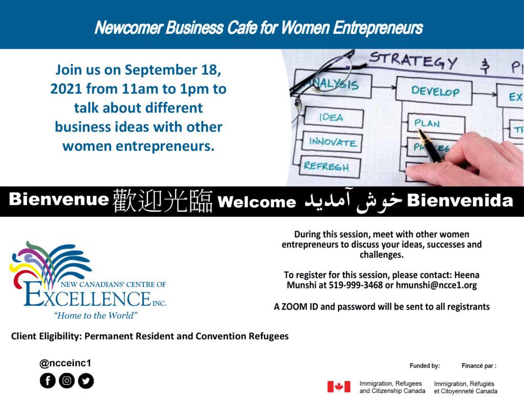 BDA Virtual Business Café for Women Entrepreneurs
