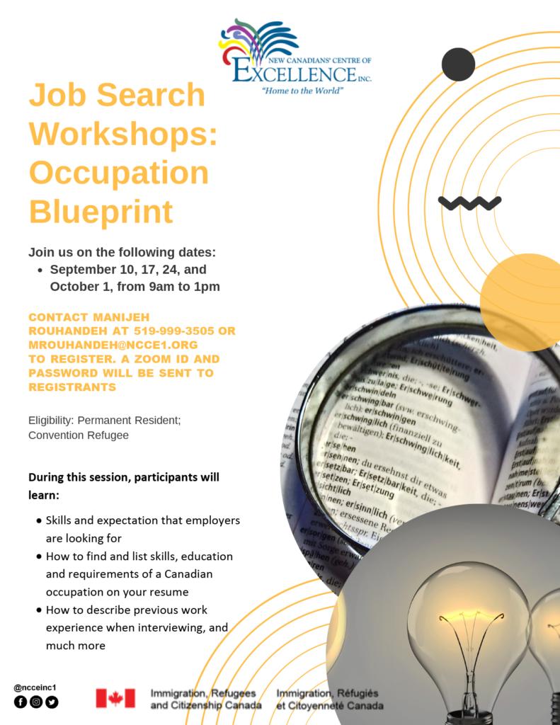 JSW Module 1 – Occupation Blueprint