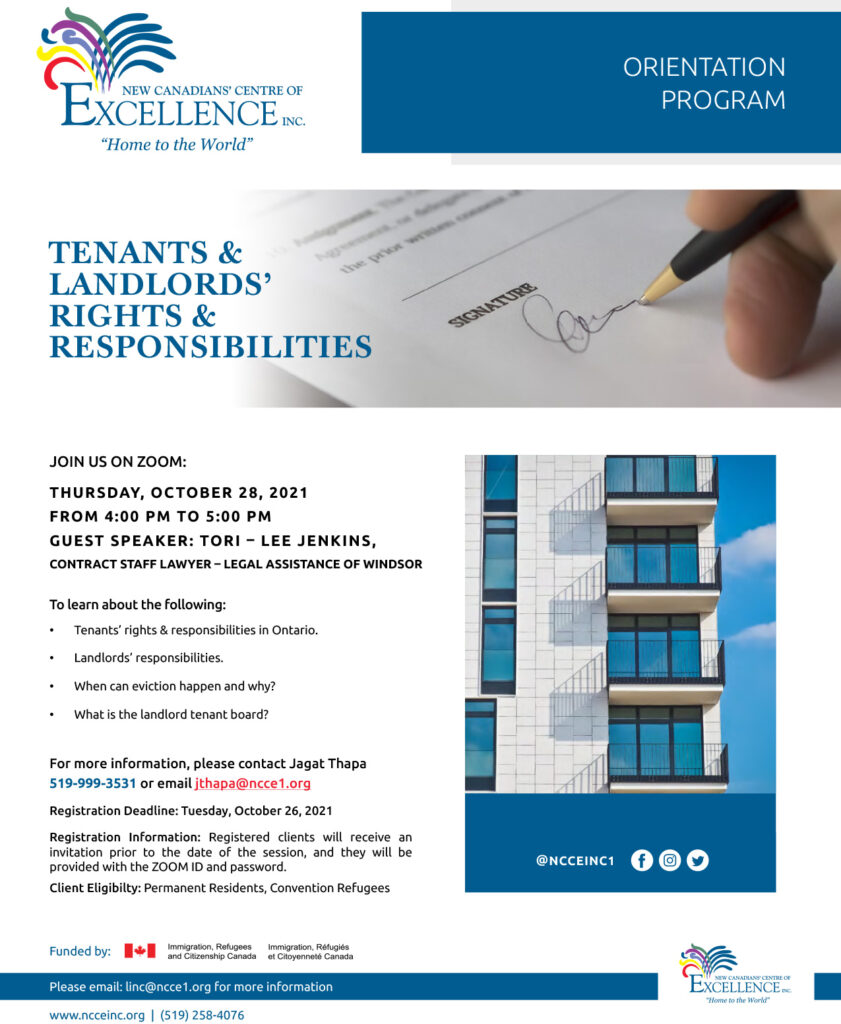 Tenant and Landlord's Rights