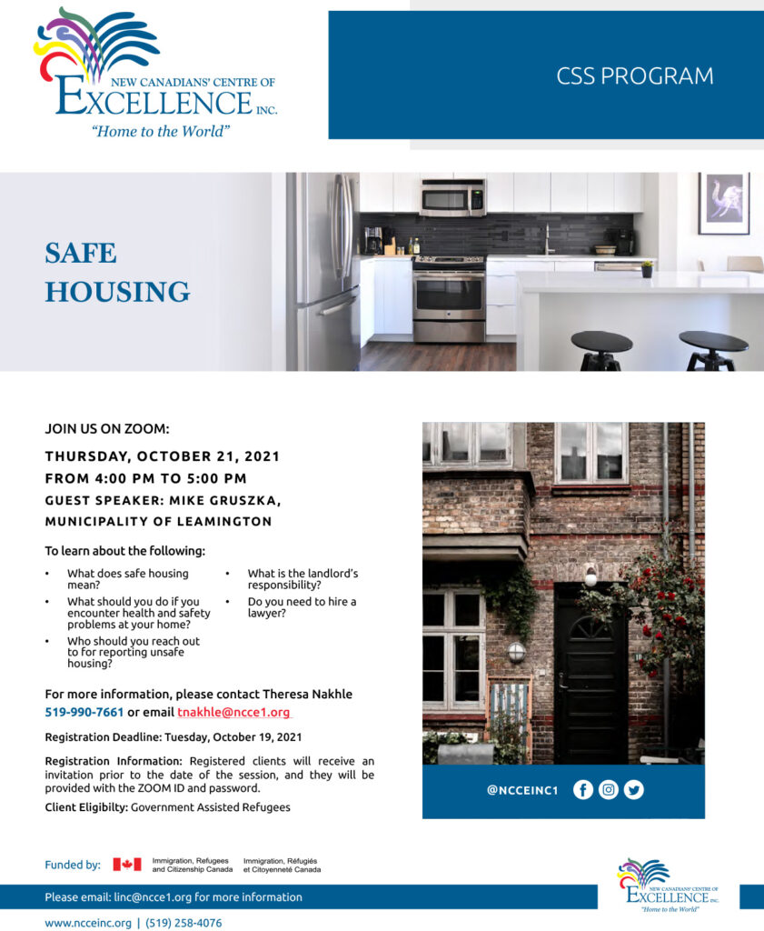 Safe Housing